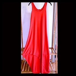 NWOT Michael Kors Asymmetrical Hi-Lo Dress (S)